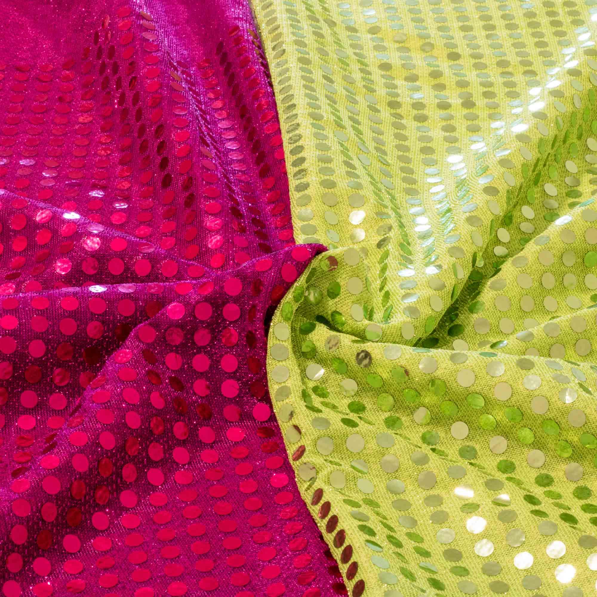 Kit Tecido Paete 5 metros 2 cores 1,00 Mt Largura