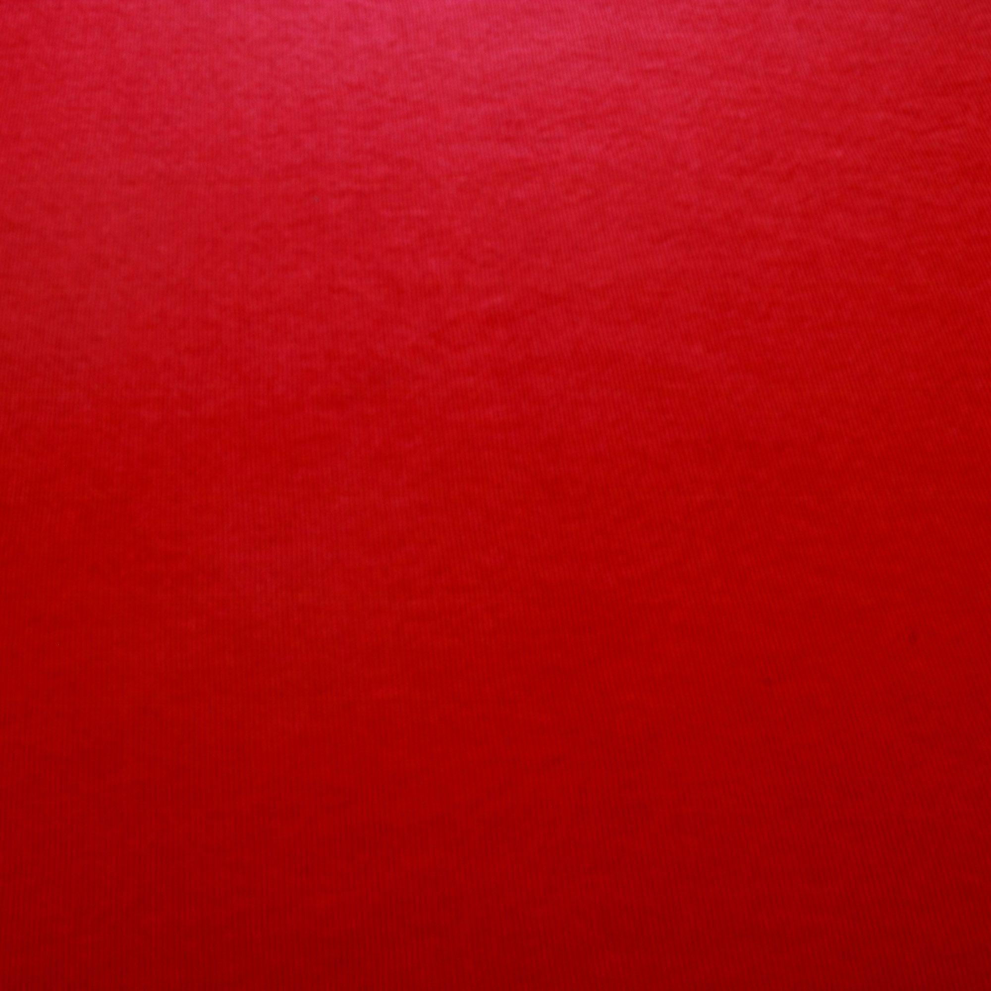 Meio Metro Tecido Punho 1,20 Mt Largura Vermelho Marsalla