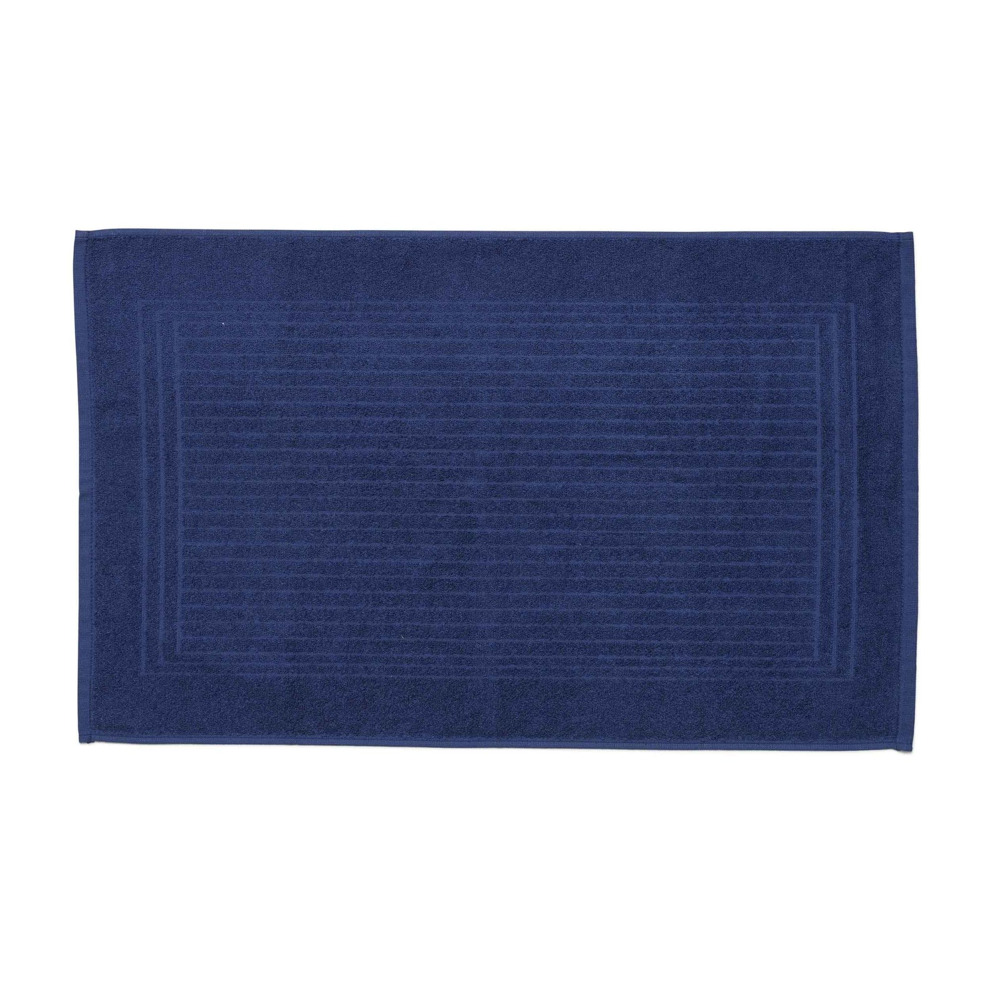 Piso cedro santista azul marinho 100% algodao