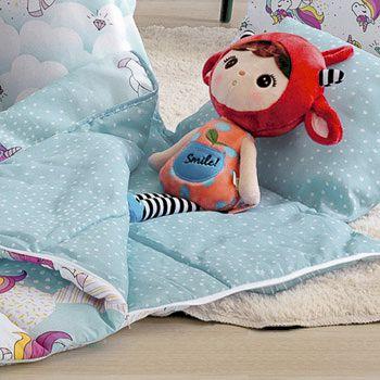 Saco de dormir infantil magic unicornio santista