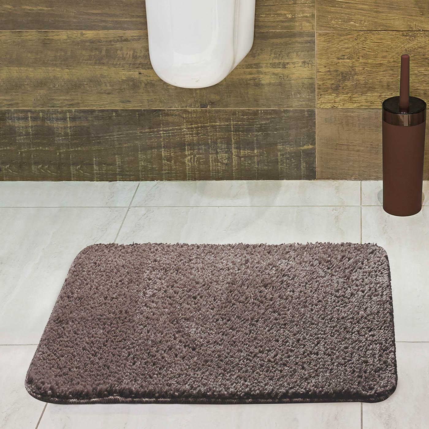 Tapete para Banheiro Jolitex Volpi 40x60cm Camurça