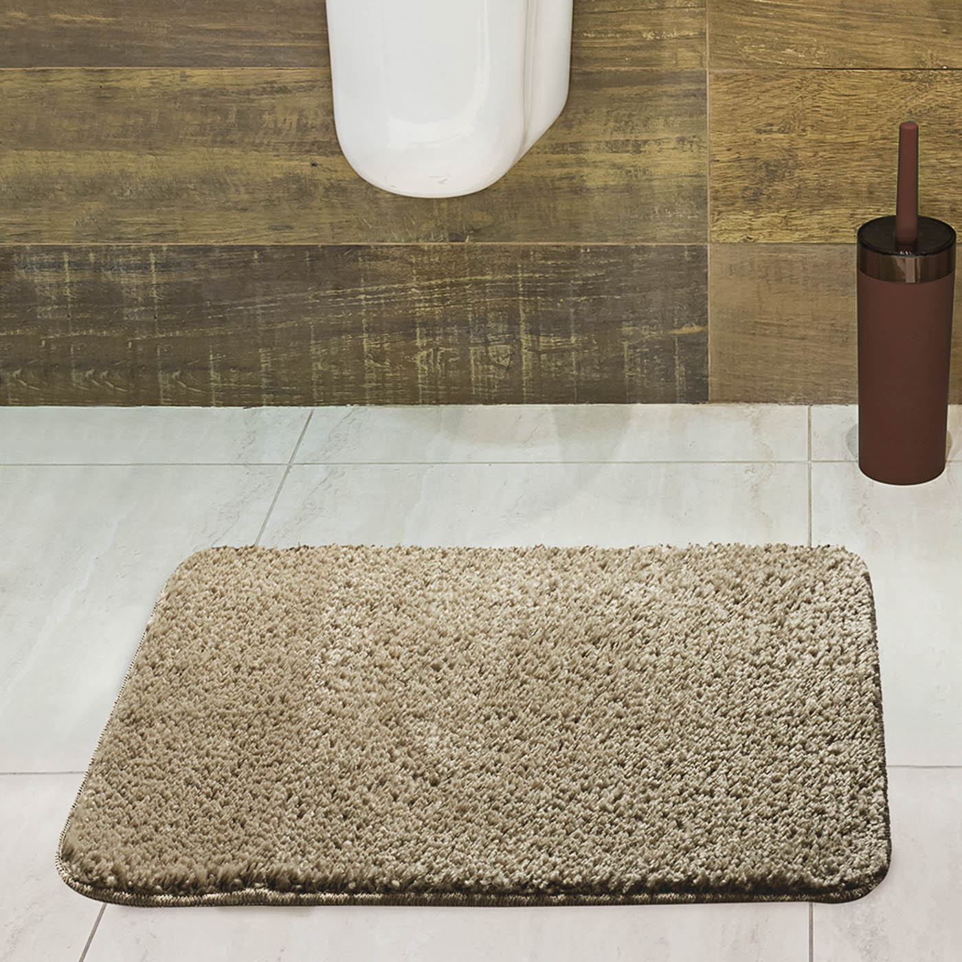 Tapete para Banheiro Jolitex Volpi 40x60cm Sisal