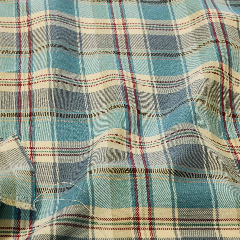 Tecido 100% Algodão Flanelado Xadrez 1 Metro x1,50Mt Azul