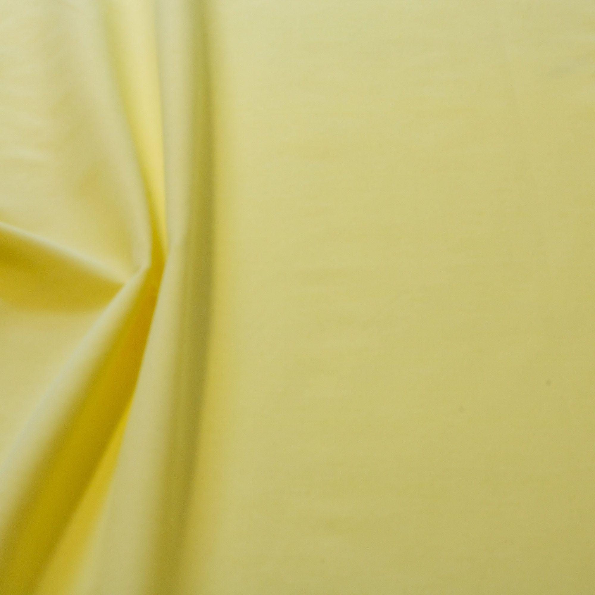 Tecido Alpaca Amarelo Bebe 65% Algodão 35% Poliester 1,40 m Largura