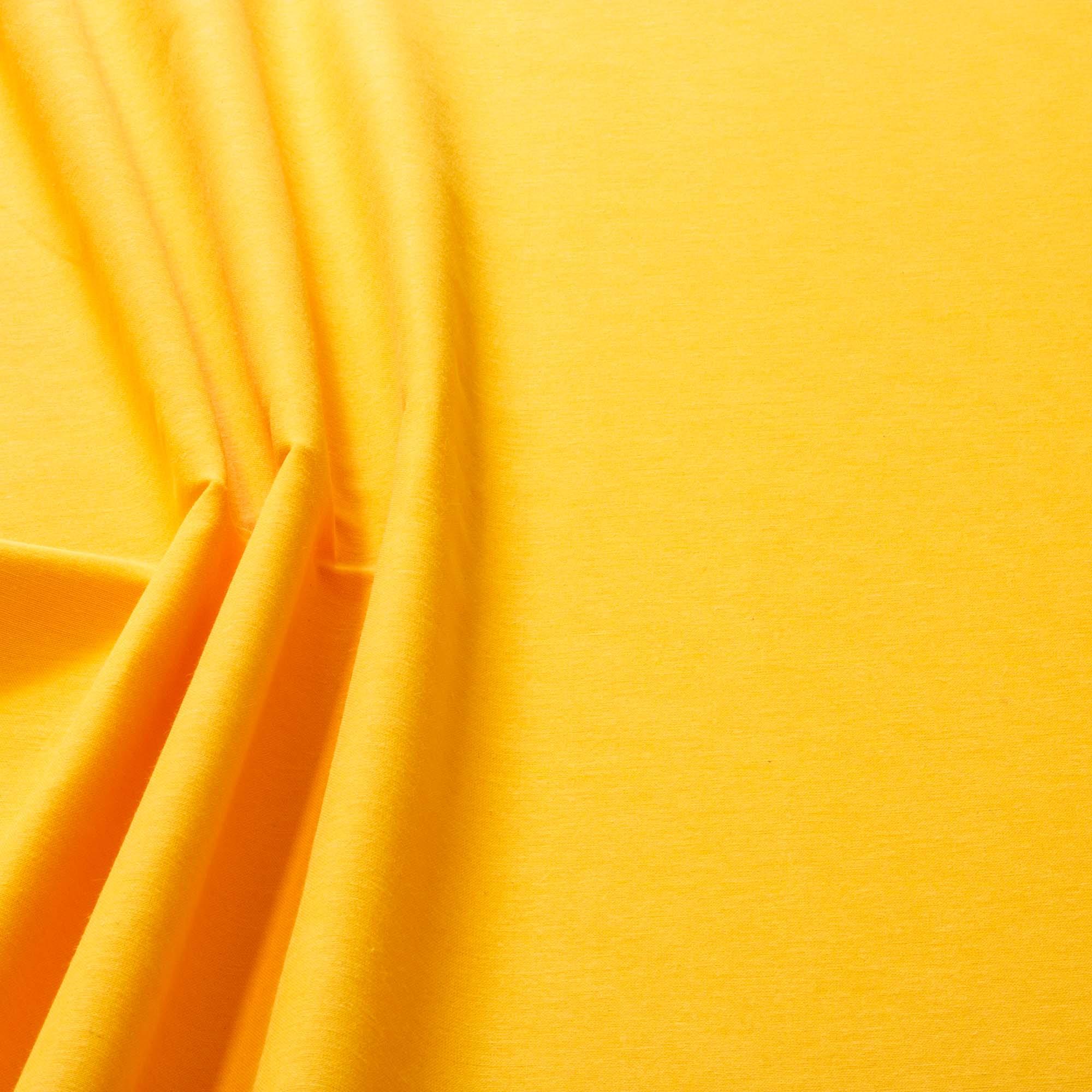 Tecido Alpaca Amarelo Ouro 65% Algodão 35% Poliester 1,40 m Largura
