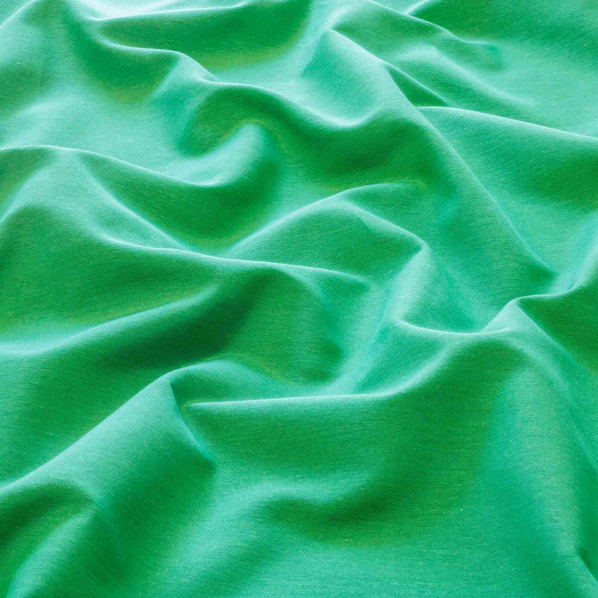 Tecido Alpaca Verde Bandeira 65% Algodão 35% Poliester 1,40 m Largura