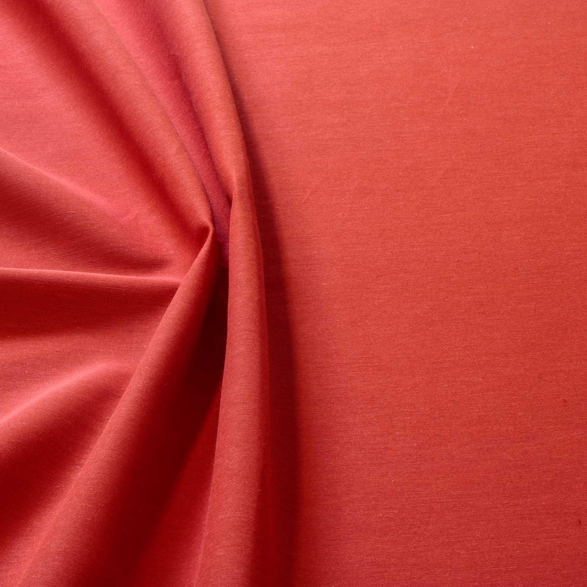 Tecido Alpaca Vermelha 65% Algodão 35% Poliester 1,40 m Largura