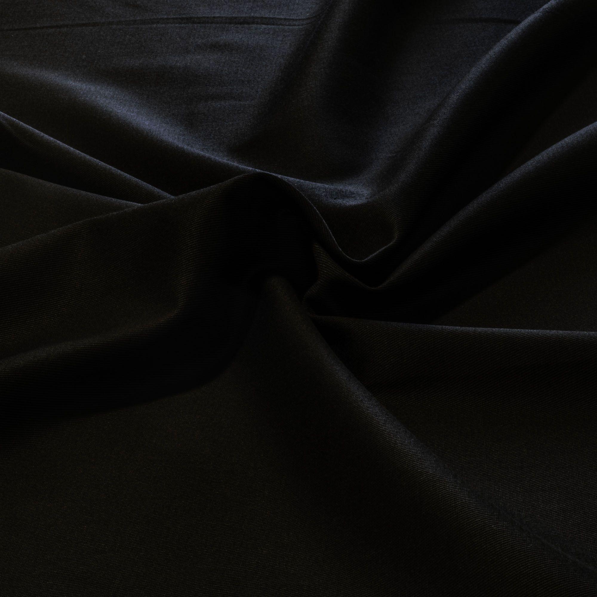 Tecido Brim Preto 100% Algodao 1,60 m Largura