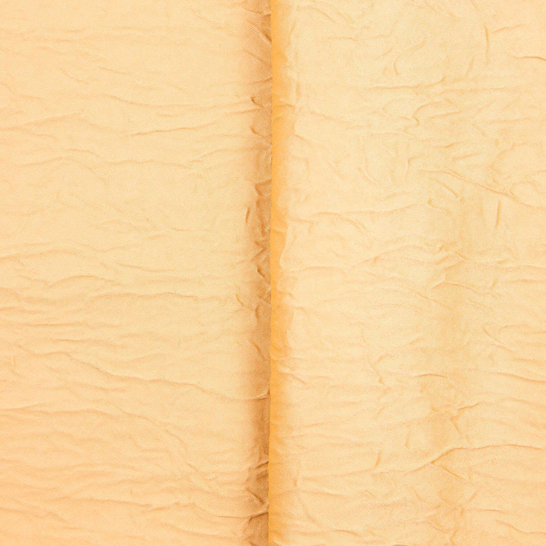 Tecido Cetim Amassado Amarelo 100% Poliester 3 m Largura