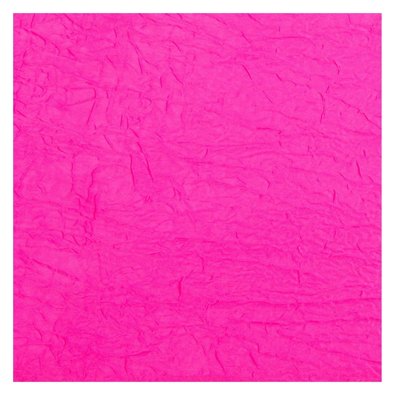 Tecido Cetim Amassado Rosa Pink 100% Poliester 3 m Largura