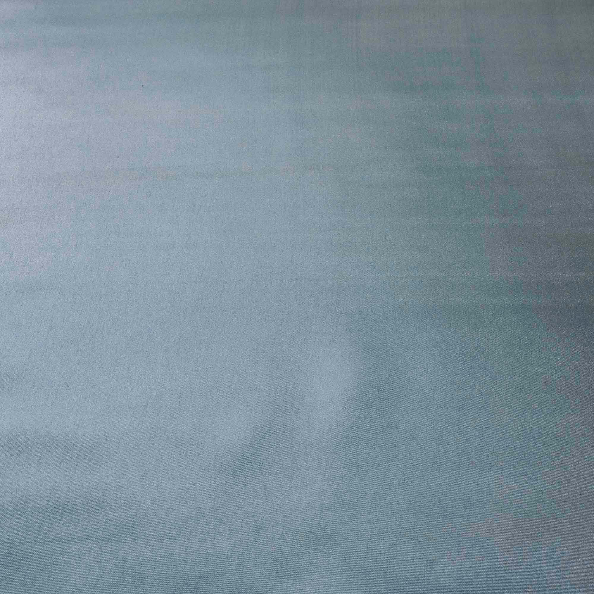 Tecido Cetim de Seda Charmeuse Azul Claro 1,50 Mt Largura
