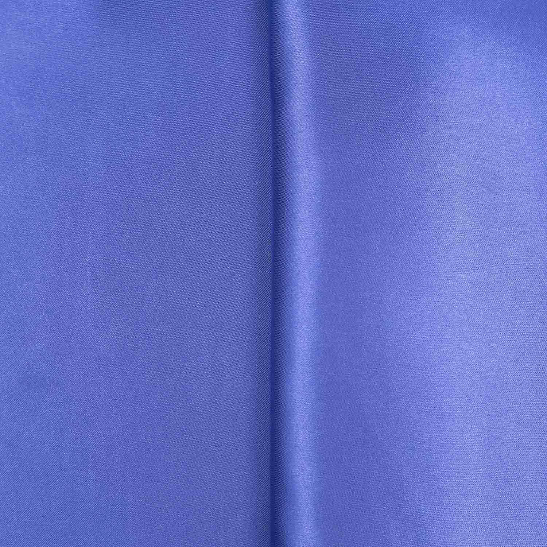 Tecido Cetim de Seda Charmeuse Azul 1,50 Mt Largura