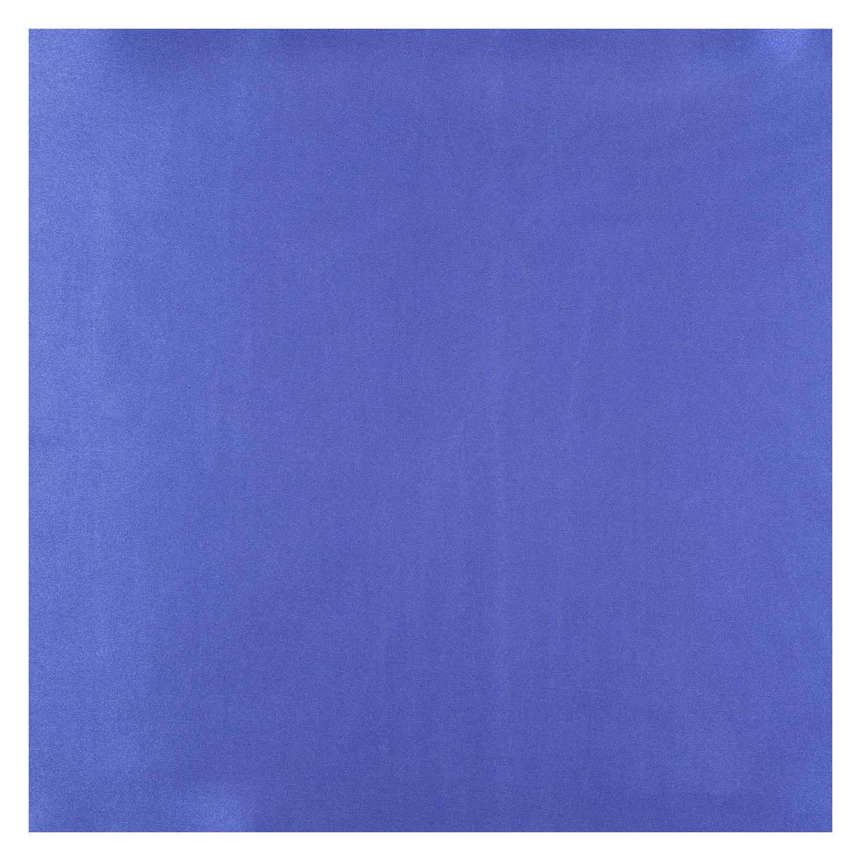 Tecido Cetim de Seda Charmeuse Azul Royal 1,50 Mt Largura