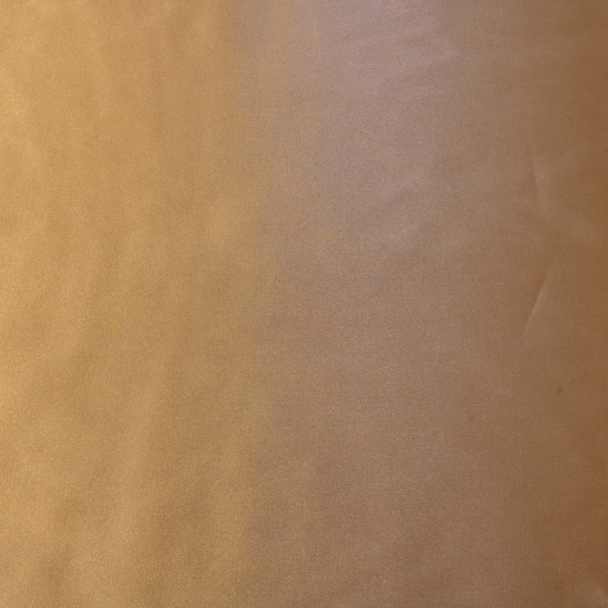 Tecido Cetim Vison Italiano Dourado 100% Poliester 1.50 de Largura