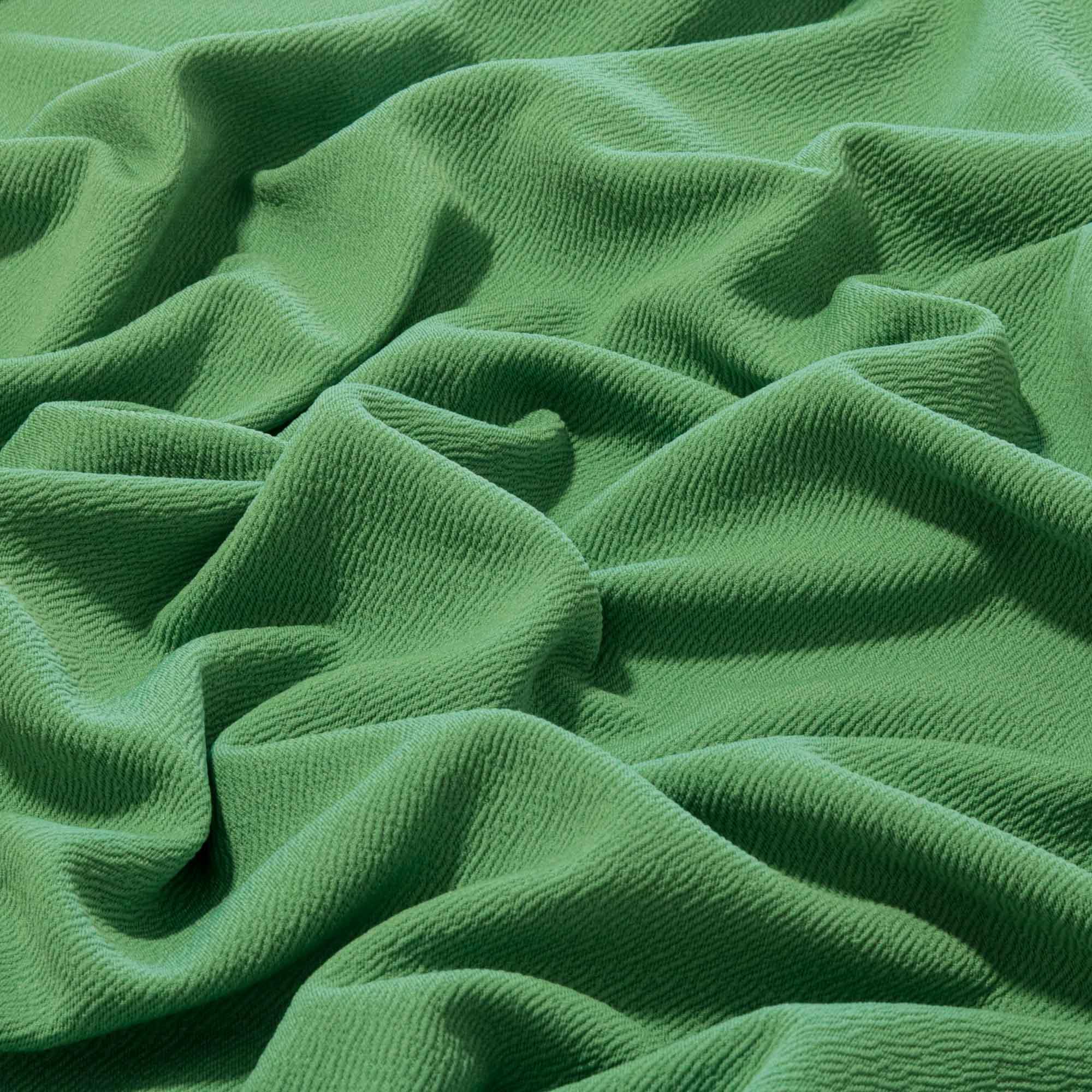 Tecido Crepe de Malha 1,60 m Largura Verde Oliva