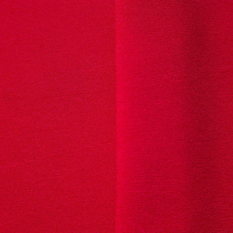 Tecido Crepe Kiwi Vermelho 100% Poliester 1,40 m Largura