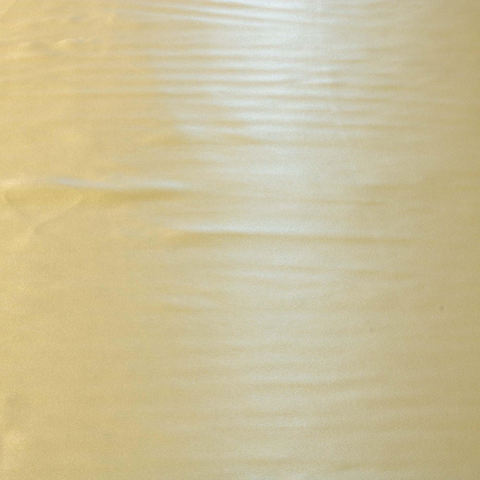 Tecido Crepe Patu Champanhe 100% Poliester 1,40 m Largura