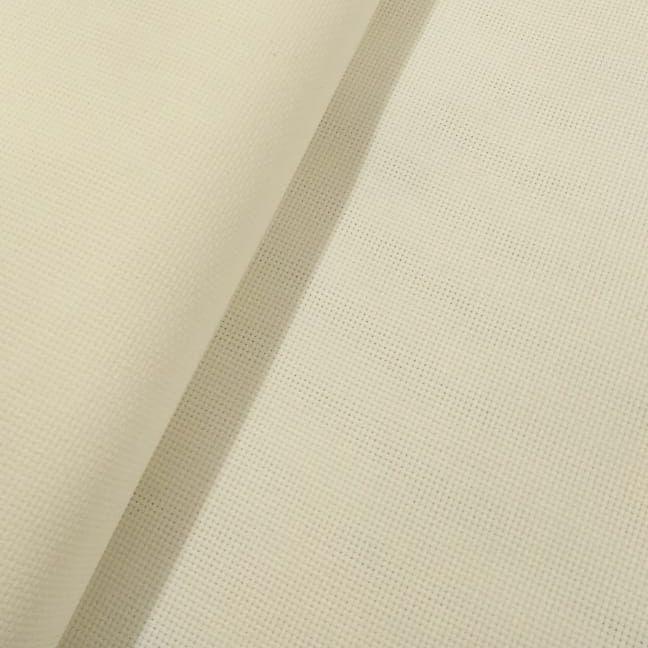 Tecido Etamine 100% Algodão 1,40 m Largura Creme