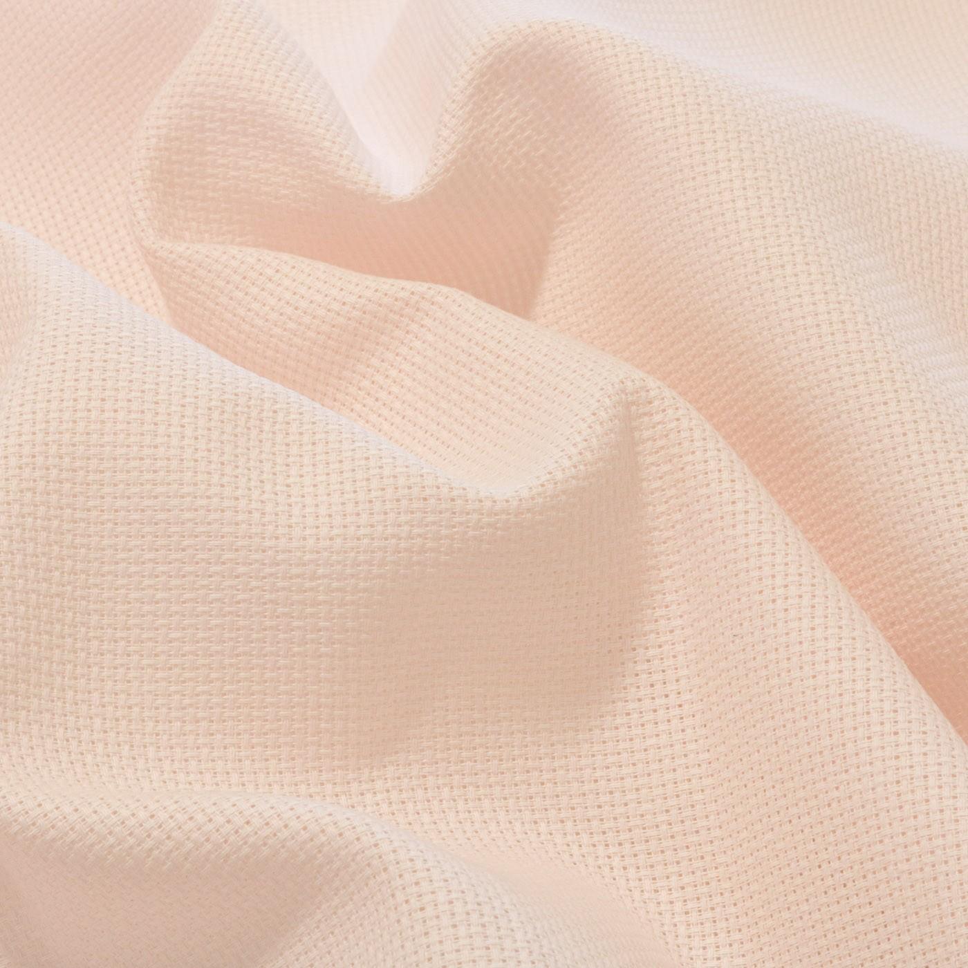 Tecido Etamine 100% Algodão 1,40 m Largura Rosa Bebê