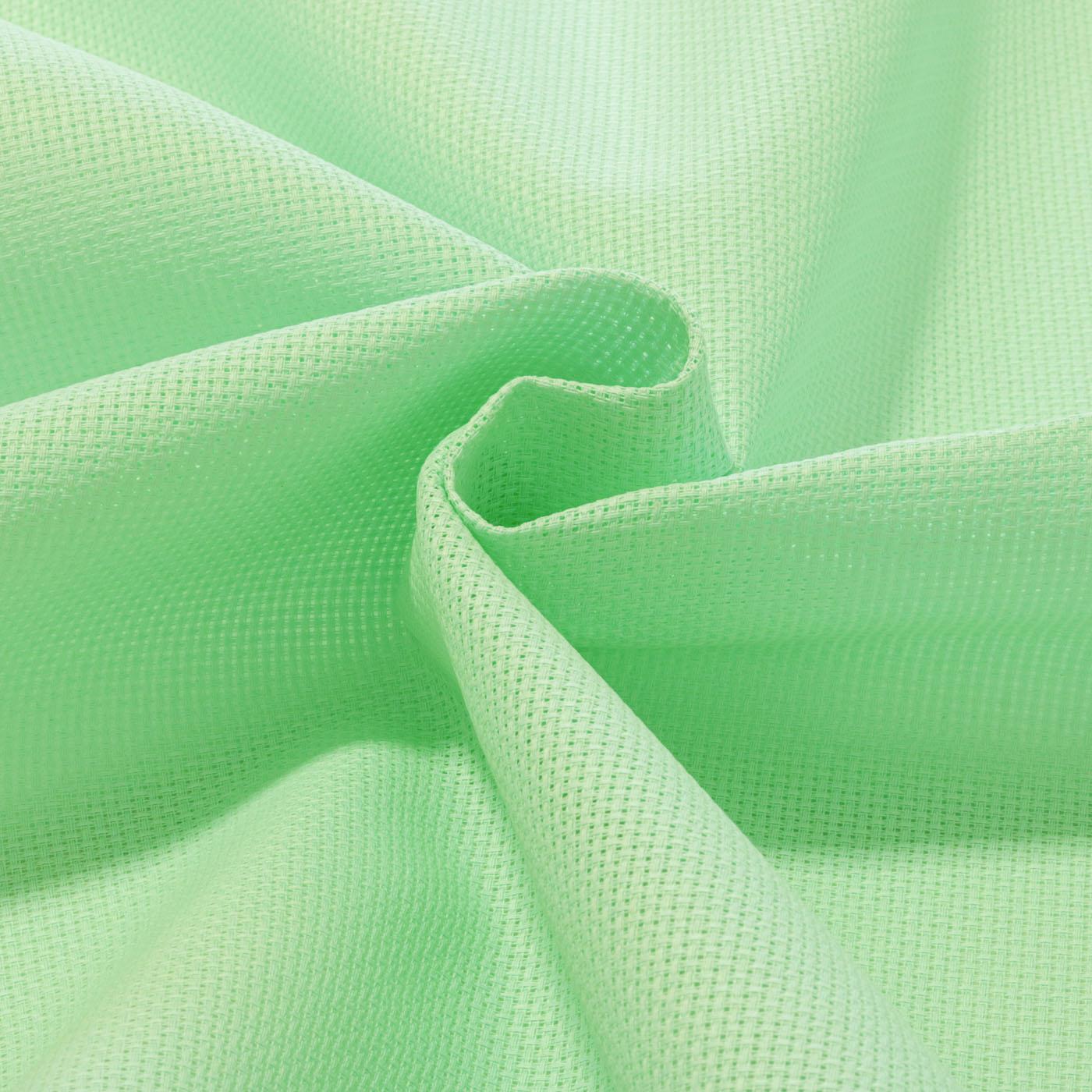 Tecido Etamine 100% Algodão 1,40 m Largura Verde Água