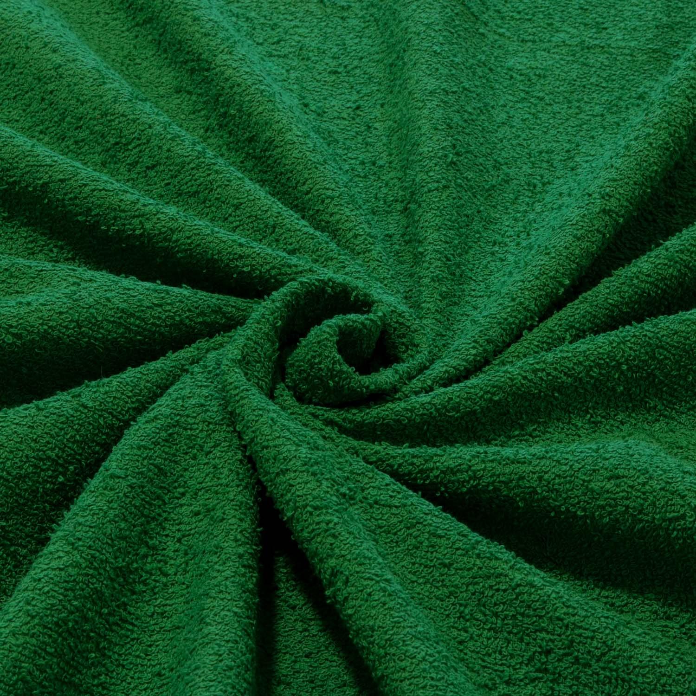 Tecido Felpudo Atoalhado 100% Algodão Verde Bandeira