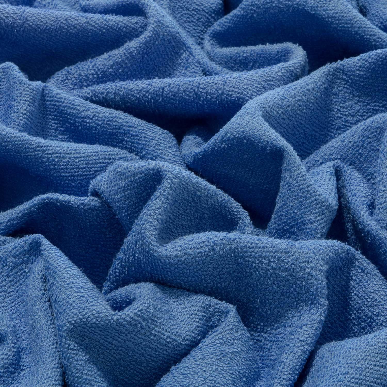 Tecido Felpudo Atoalhado Dohler 100% Algodão Azul Indigo