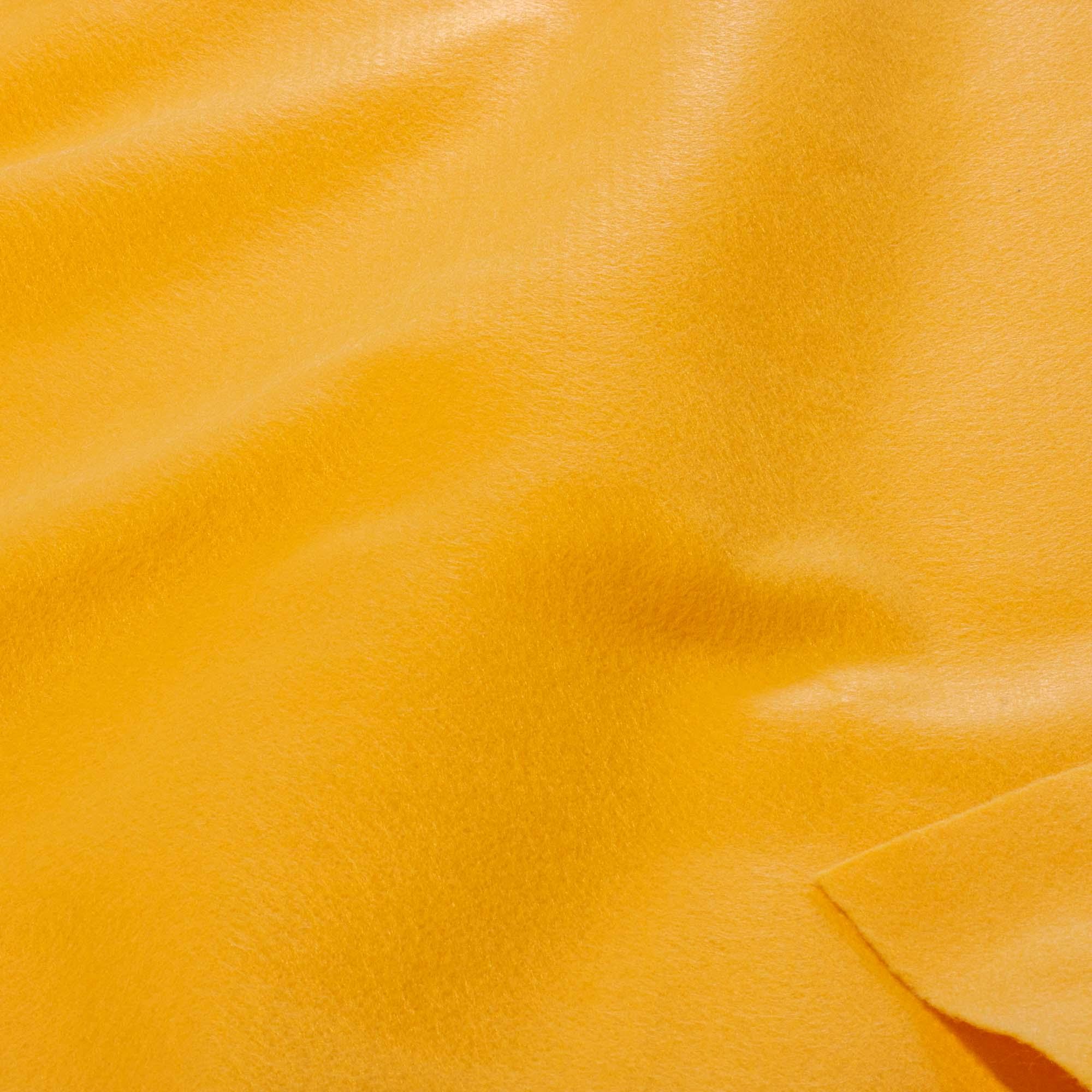 Tecido Feltro 100% Poliester 1,40 Mt Largura Amarelo Canario