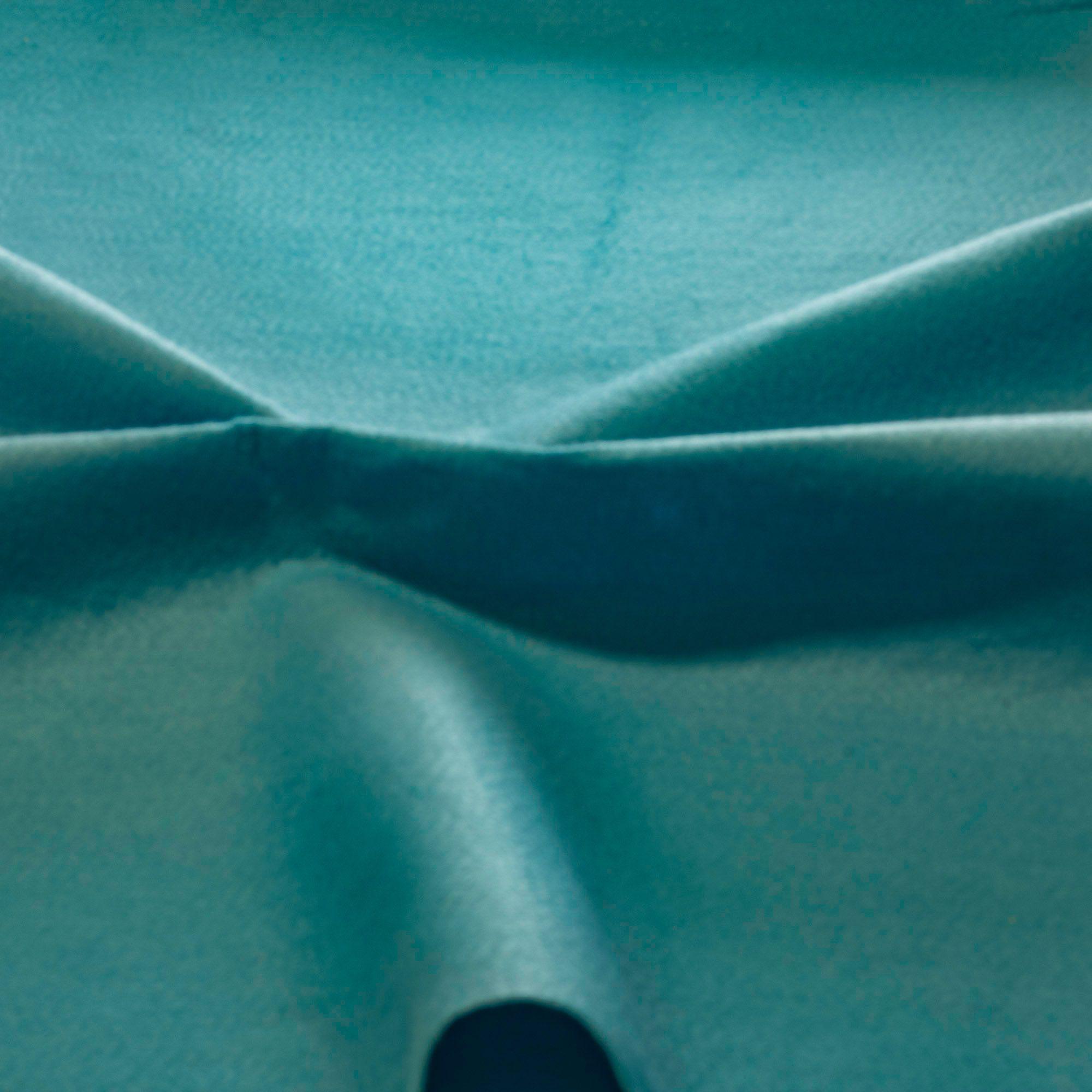 Tecido Feltro Azul Turquesa 100% Poliester 1,40 m Largura