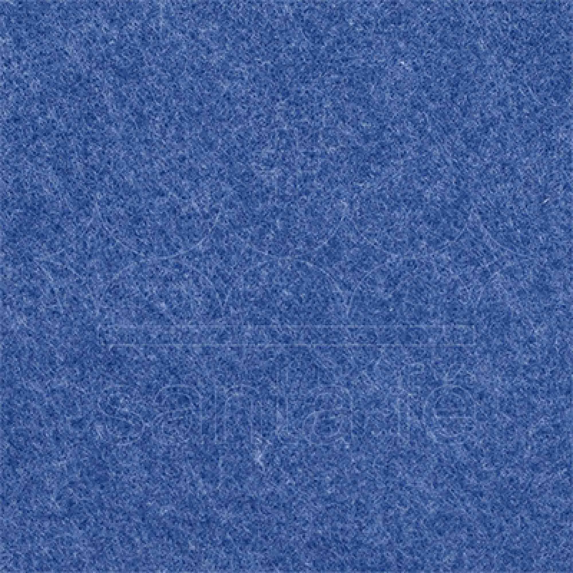 Tecido Feltro Mescla 100% Poliester 1,40 Mt Largura Azul/Jeans
