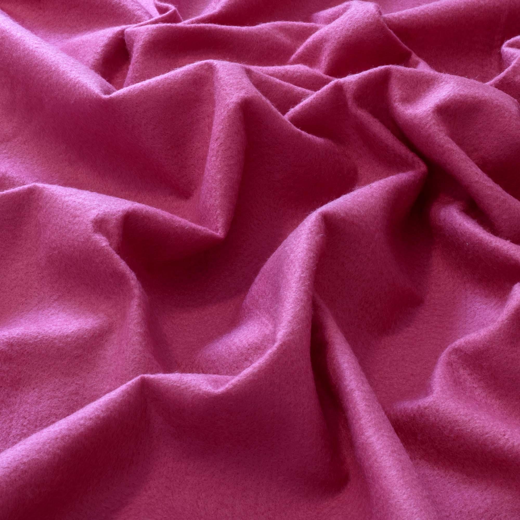 Tecido Feltro Rosa Pink 100% Poliester 1,40 m Largura