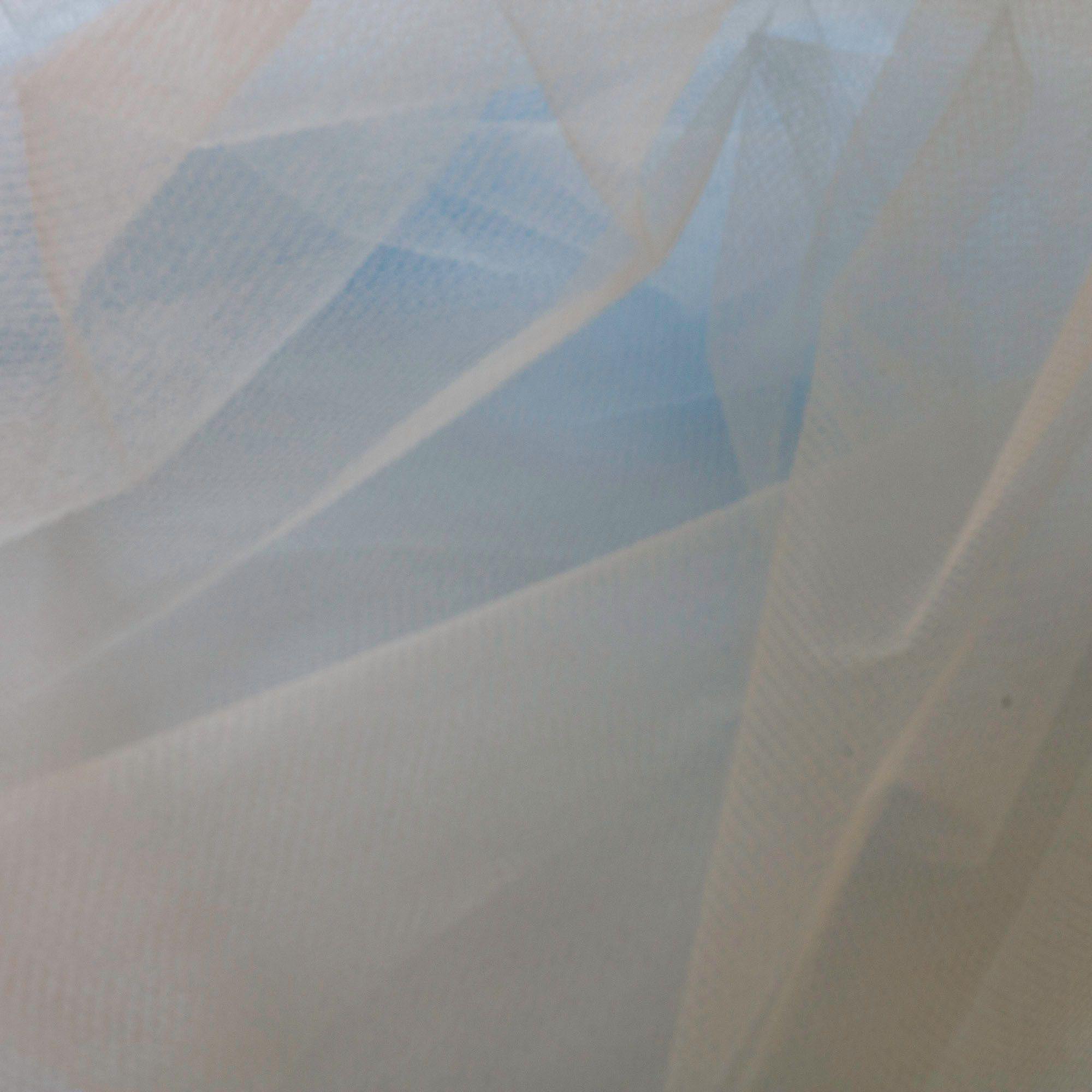 Tecido Filó Azul Claro 100% Poliamida 3 m Largura