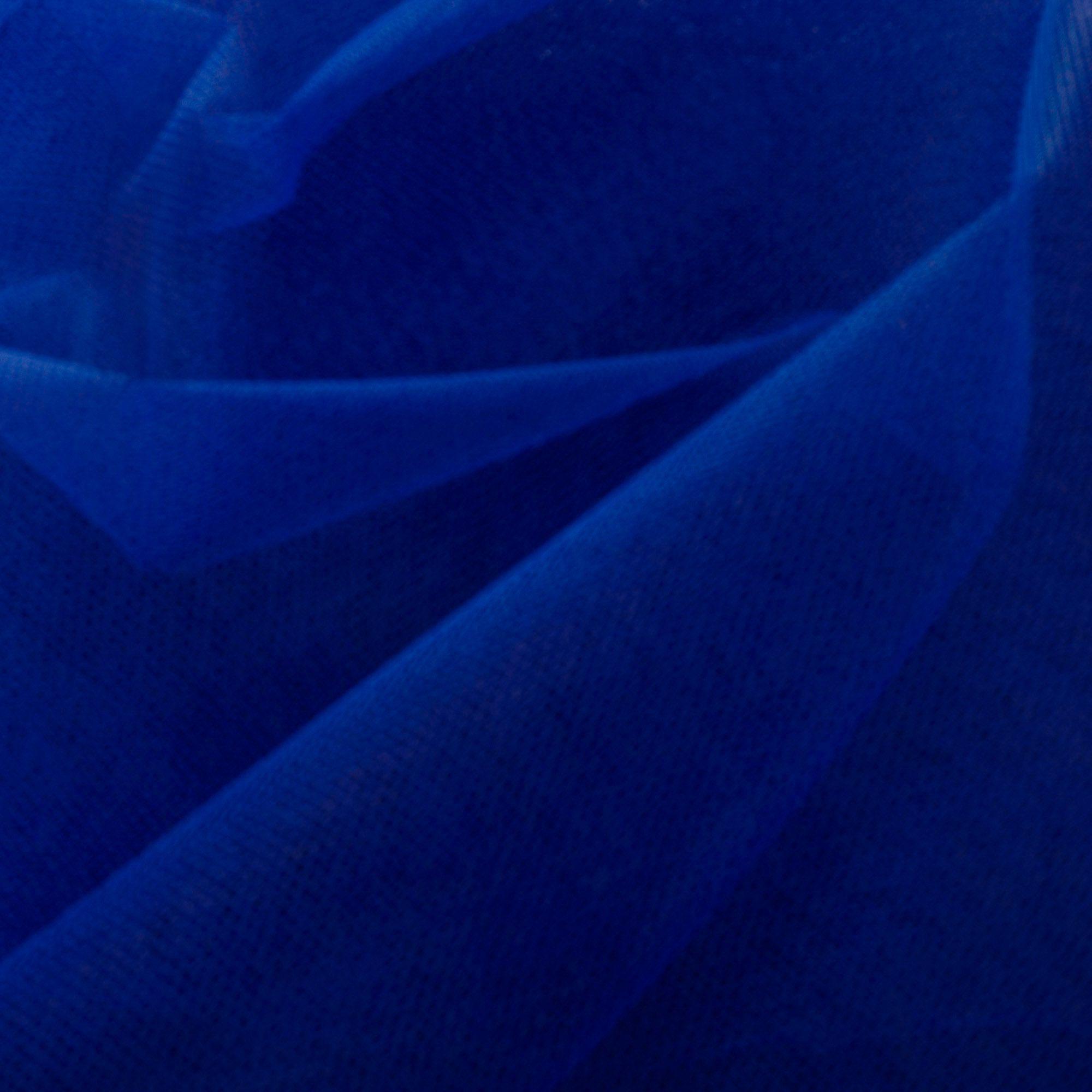 Tecido Filó Azul Royal 100% Poliamida 3 m Largura