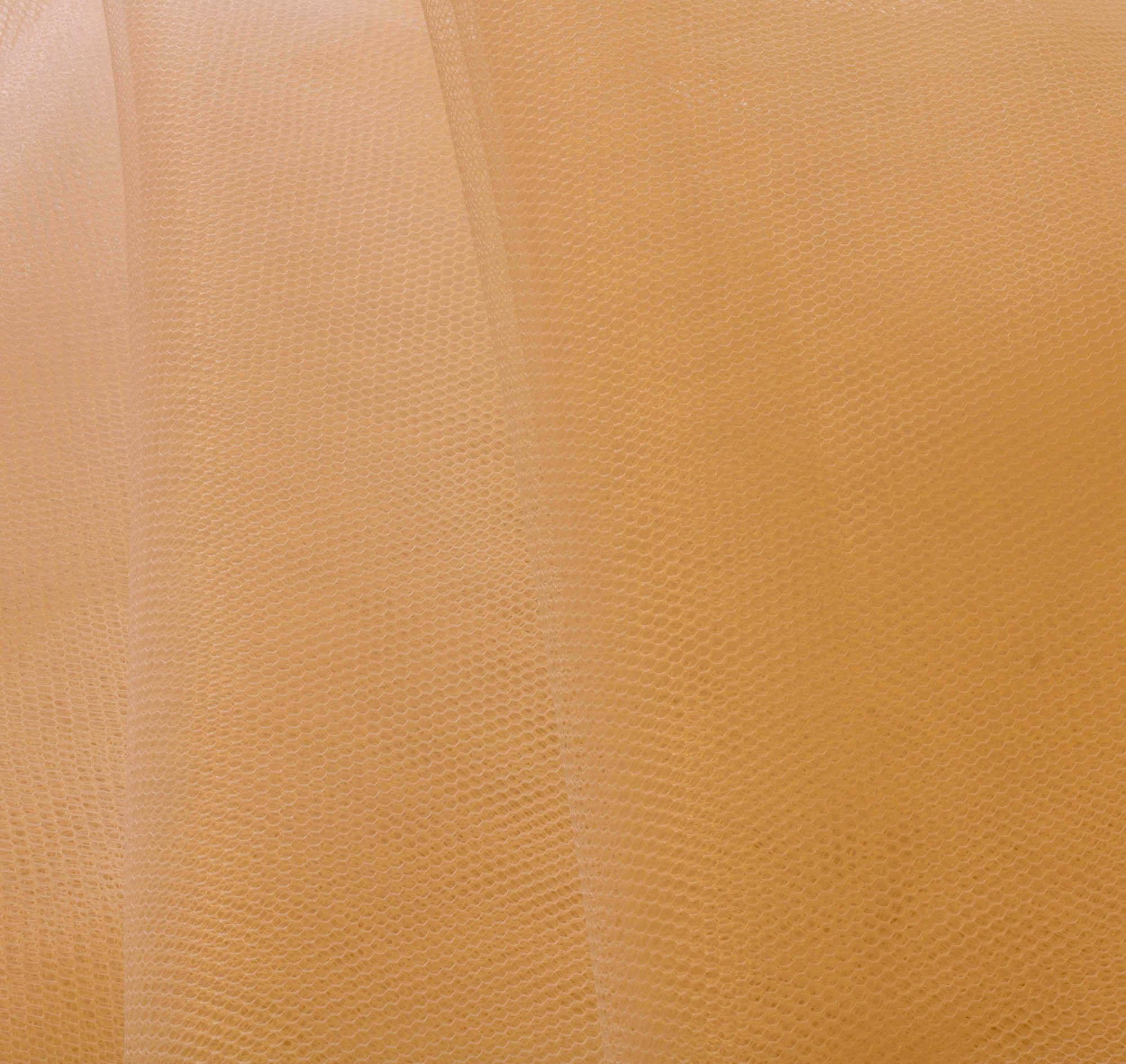 Tecido Filó Bege 100% Poliamida 3 m Largura