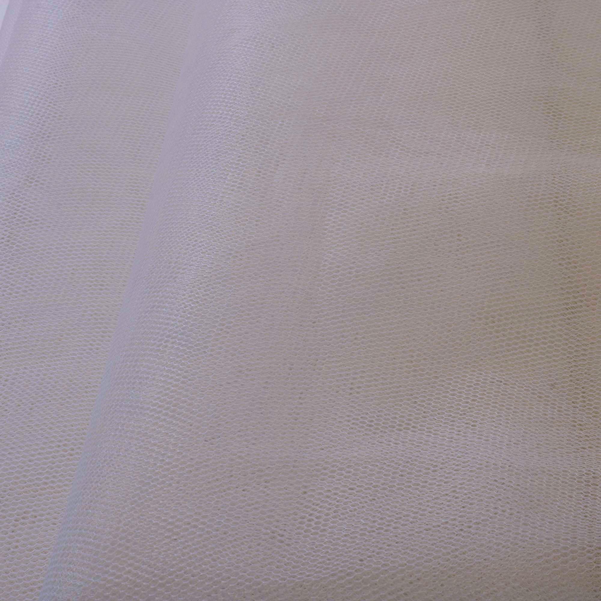 Tecido Filó Branco 100% Poliamida 3 m Largura