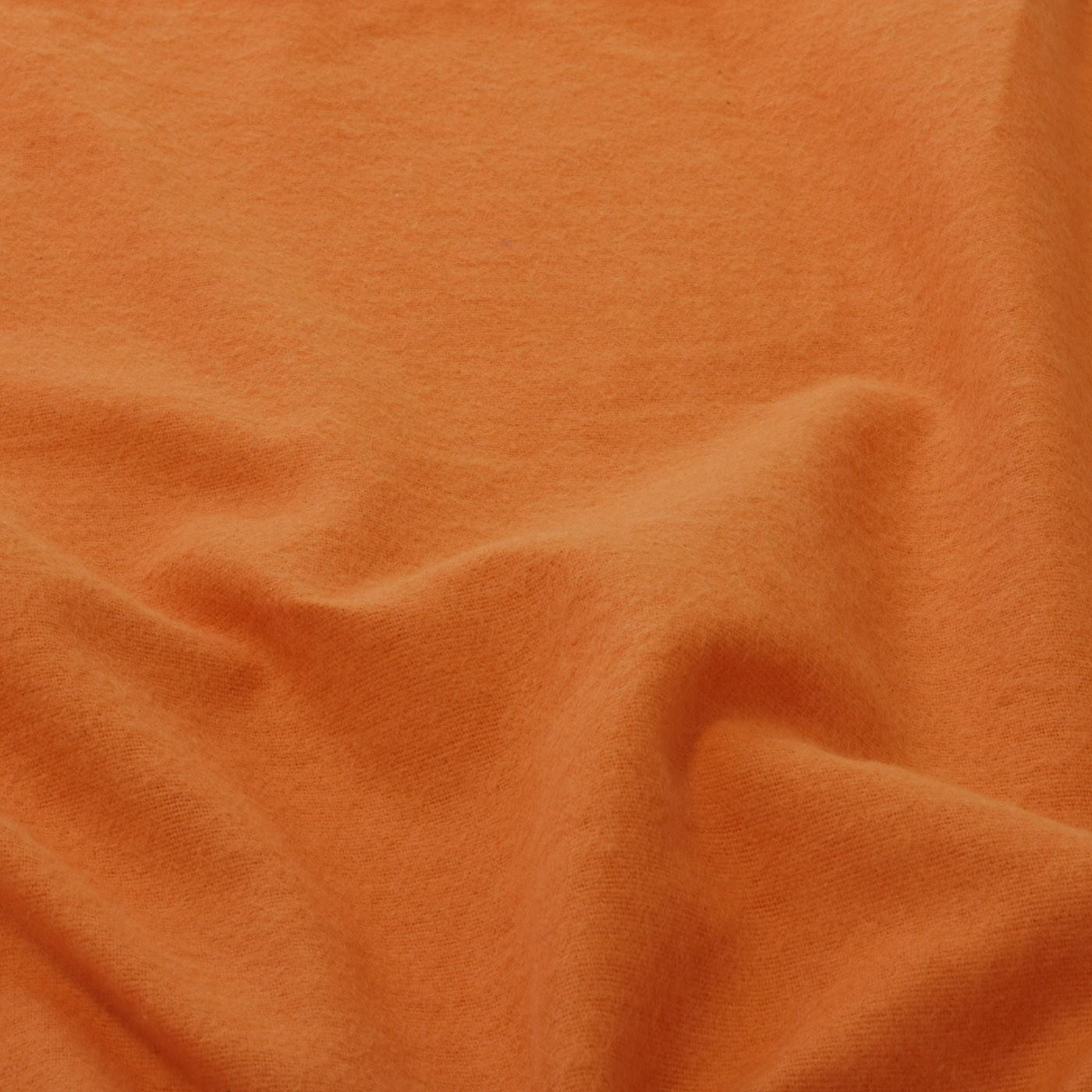 Tecido Flanela de Limpeza 100% Algodao 1,60 Mt Largura Laranja