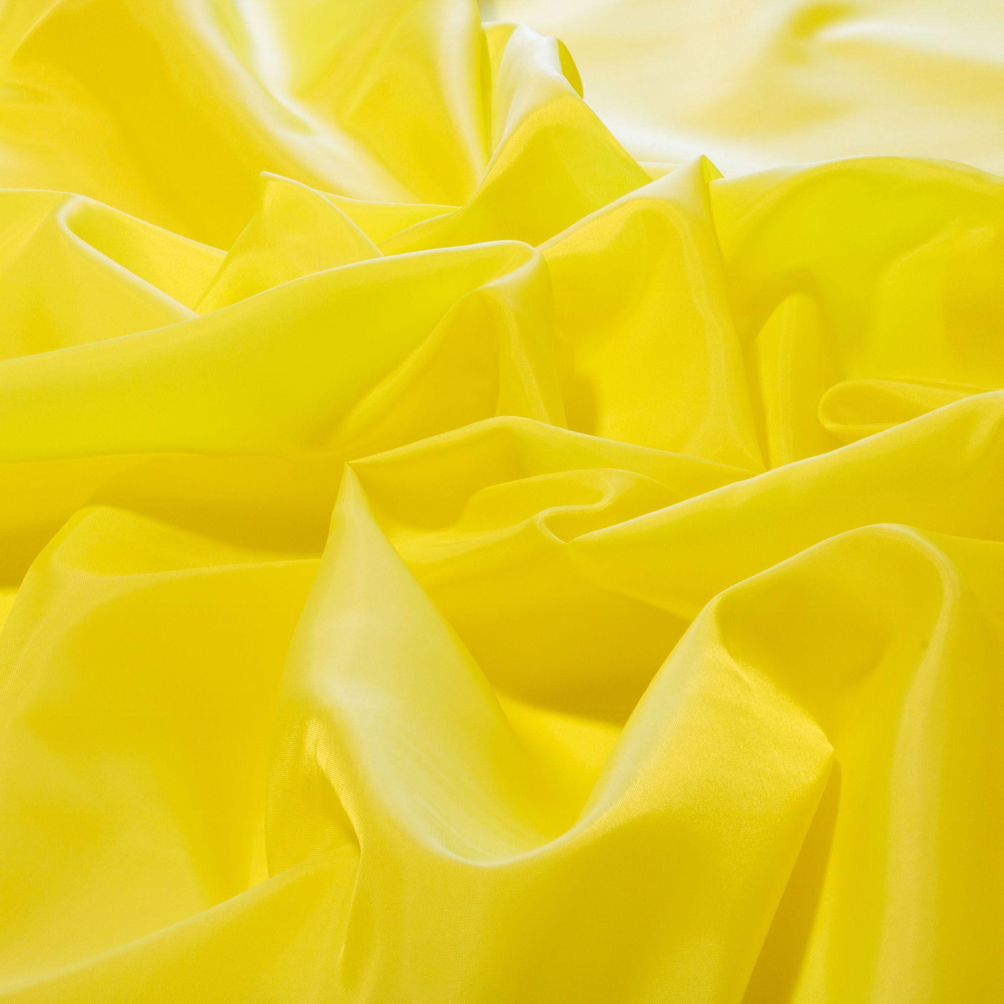Tecido Forro Bember 100%Poliester 1,50m Largura Amarelo
