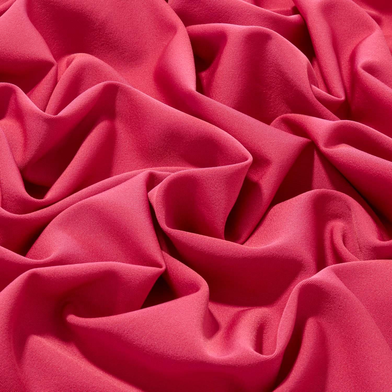 Tecido Gabardine Liso Two Way Com Elastano Rosa Pink