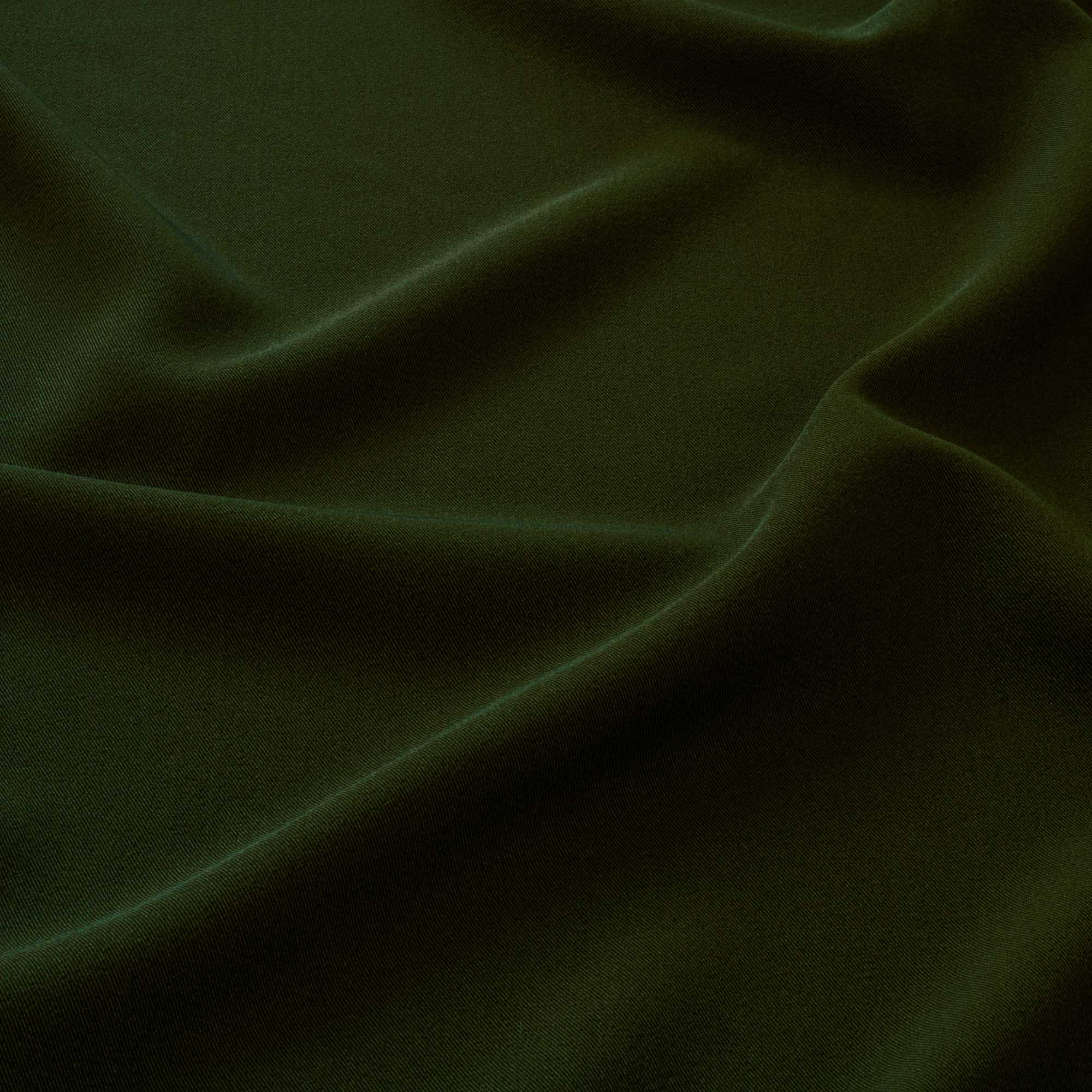 Tecido Gabardine Two Way Verde Exercito Com Elastano 1,50 Mt Largura