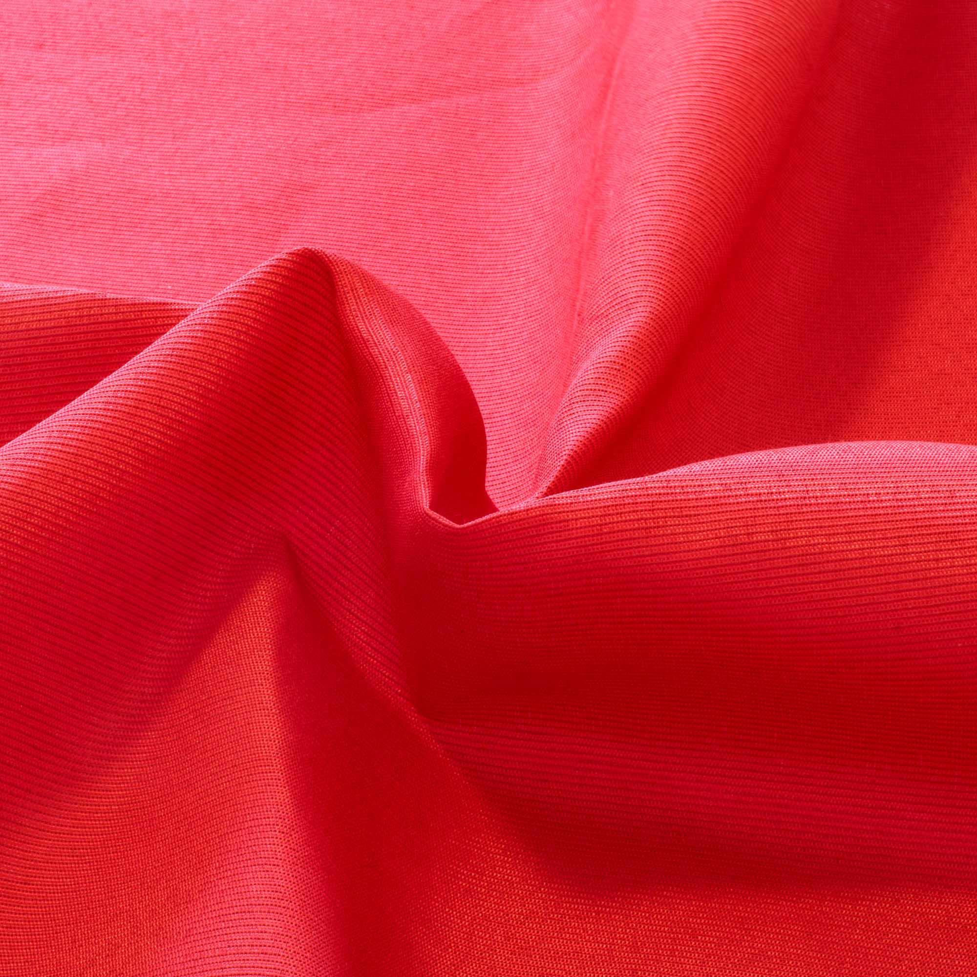 Tecido Gorgurinho Liso 1,50 Mt Largura Vermelho Marslla