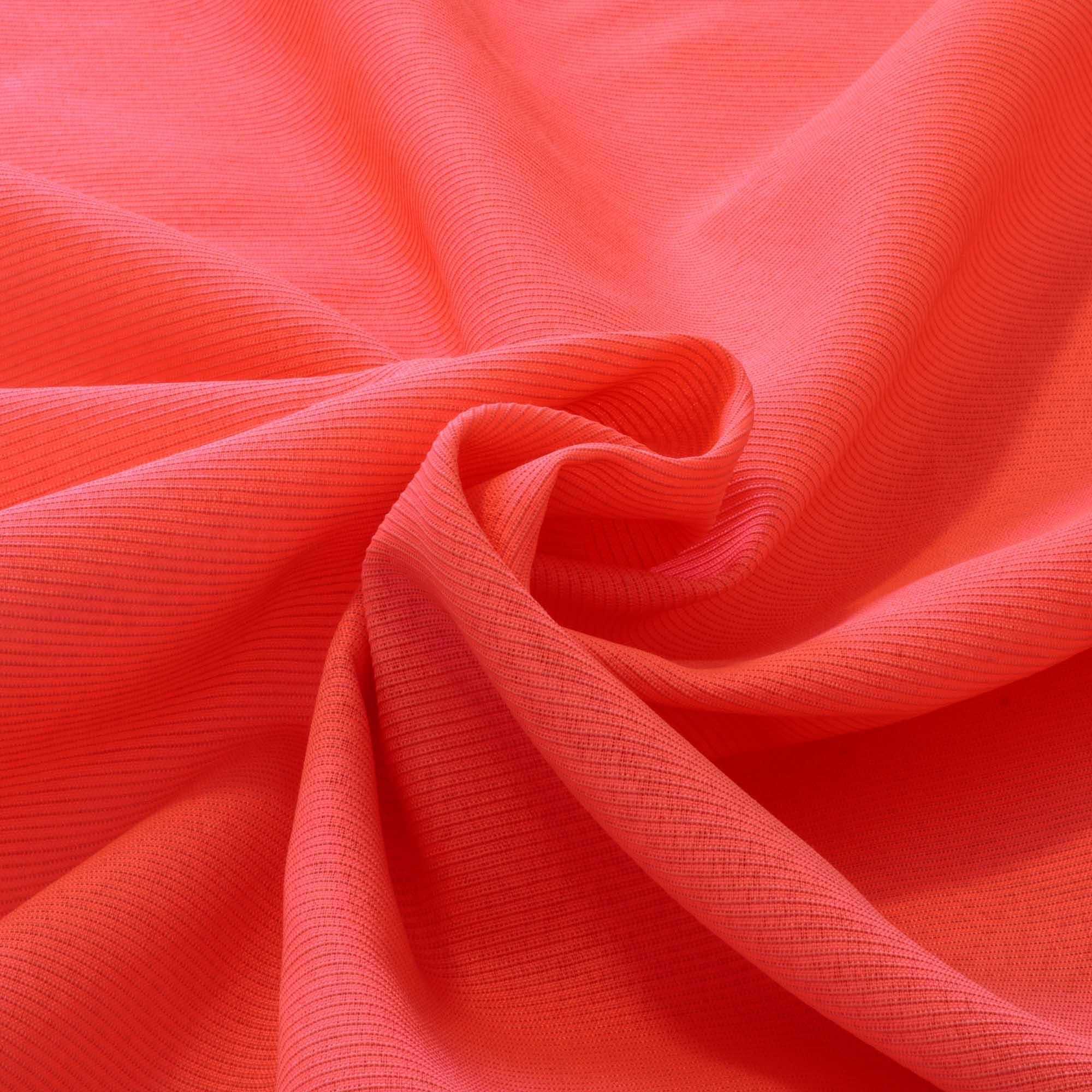 Tecido Gorgurinho Rosa Neon 52% Poliester 48% Algodão 1,50 m Largura