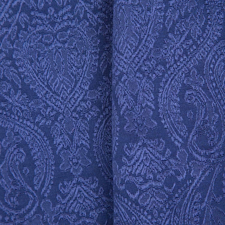 Tecido Jacquard Azul Marinho 58% Algodão 42% Poliester 1,40 m Largura