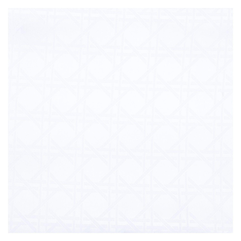 Tecido Jacquard Branco 58% Algodão 42% Poliester 2,80 m Largura