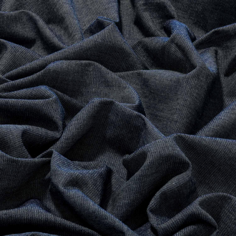 Tecido Jeans Chambray 100% Algodão 1,70 Mt Largura Azul Mescla