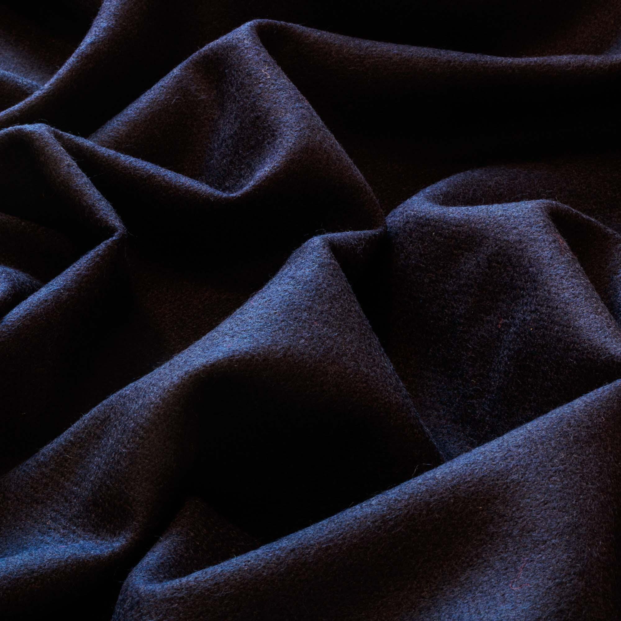 Tecido Lã Azul Marinho 100% Lã 1,40 m Largura