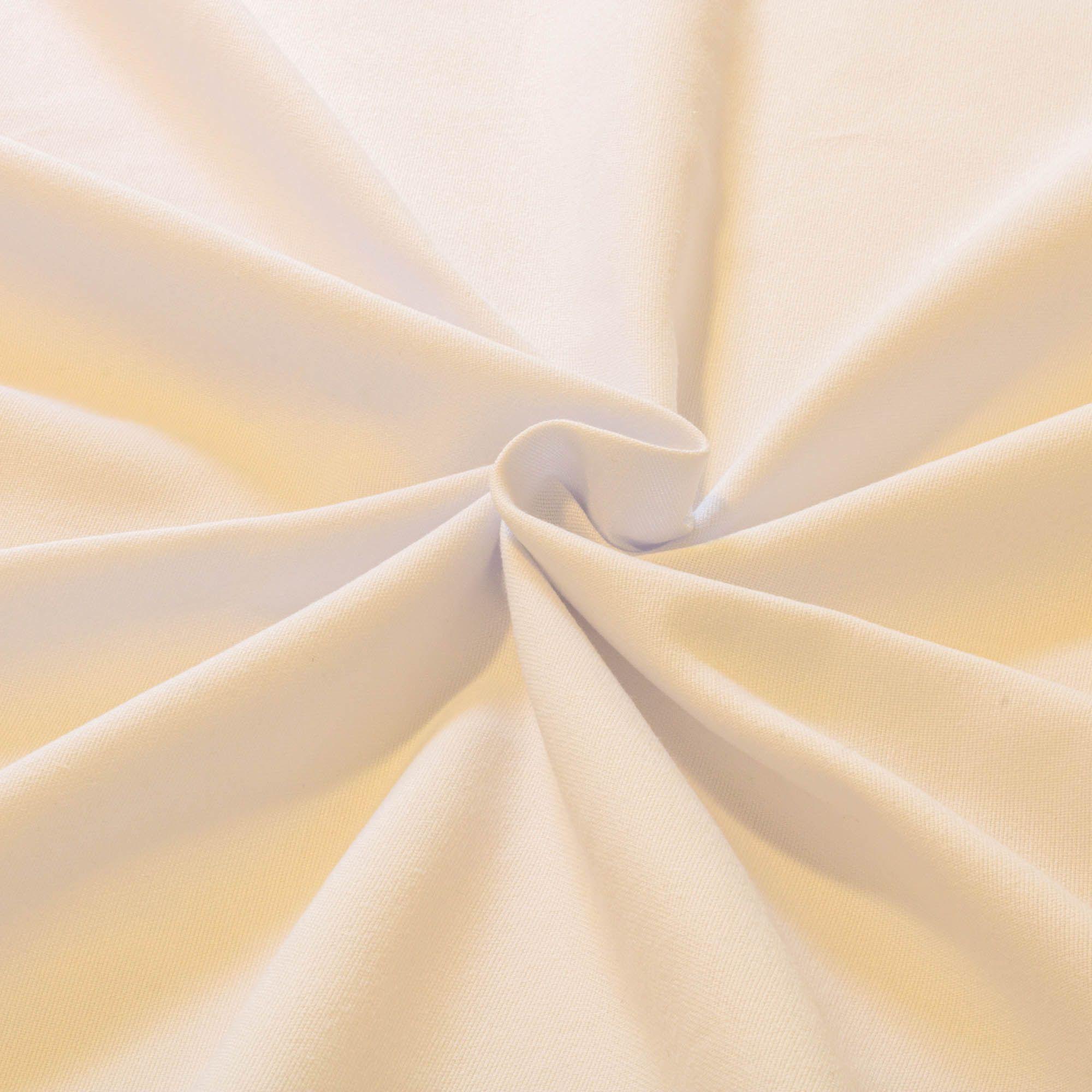 Tecido Linho Panama Branco 100% Algodao 1,50 m Largura