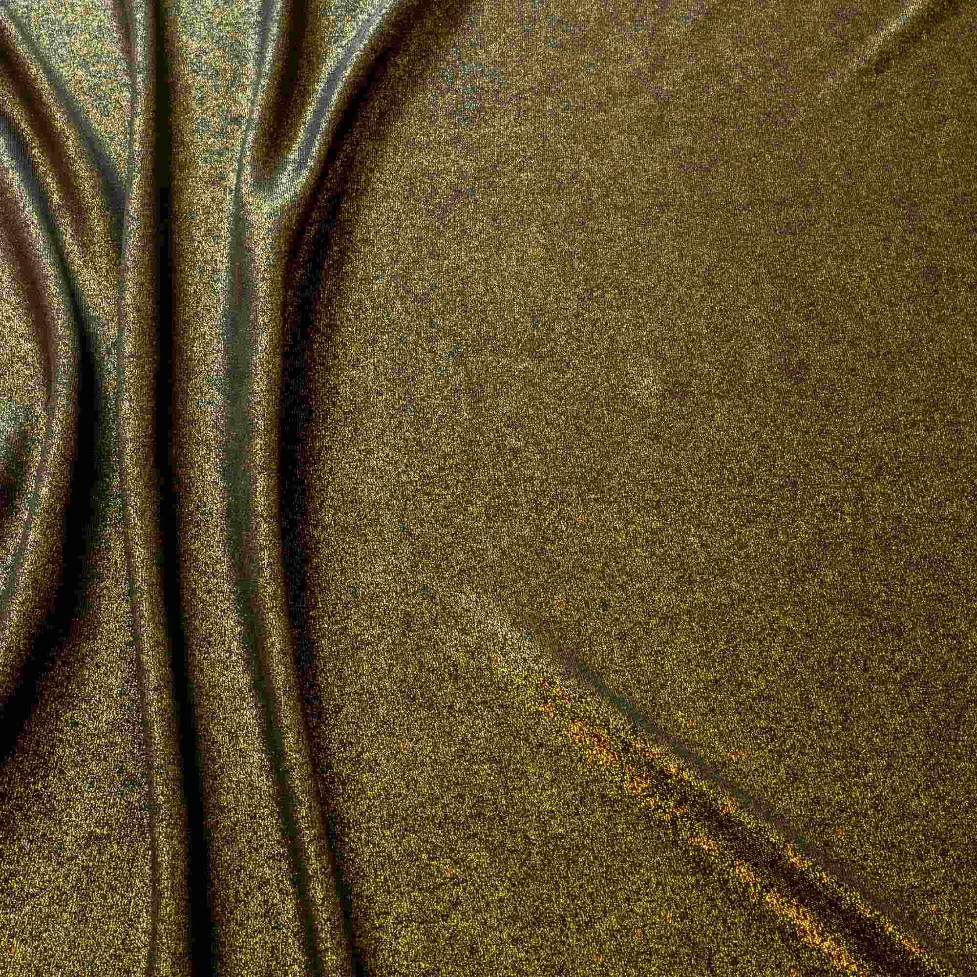 Tecido Lurex Dourado com Brilho 1,60 Mt Largura