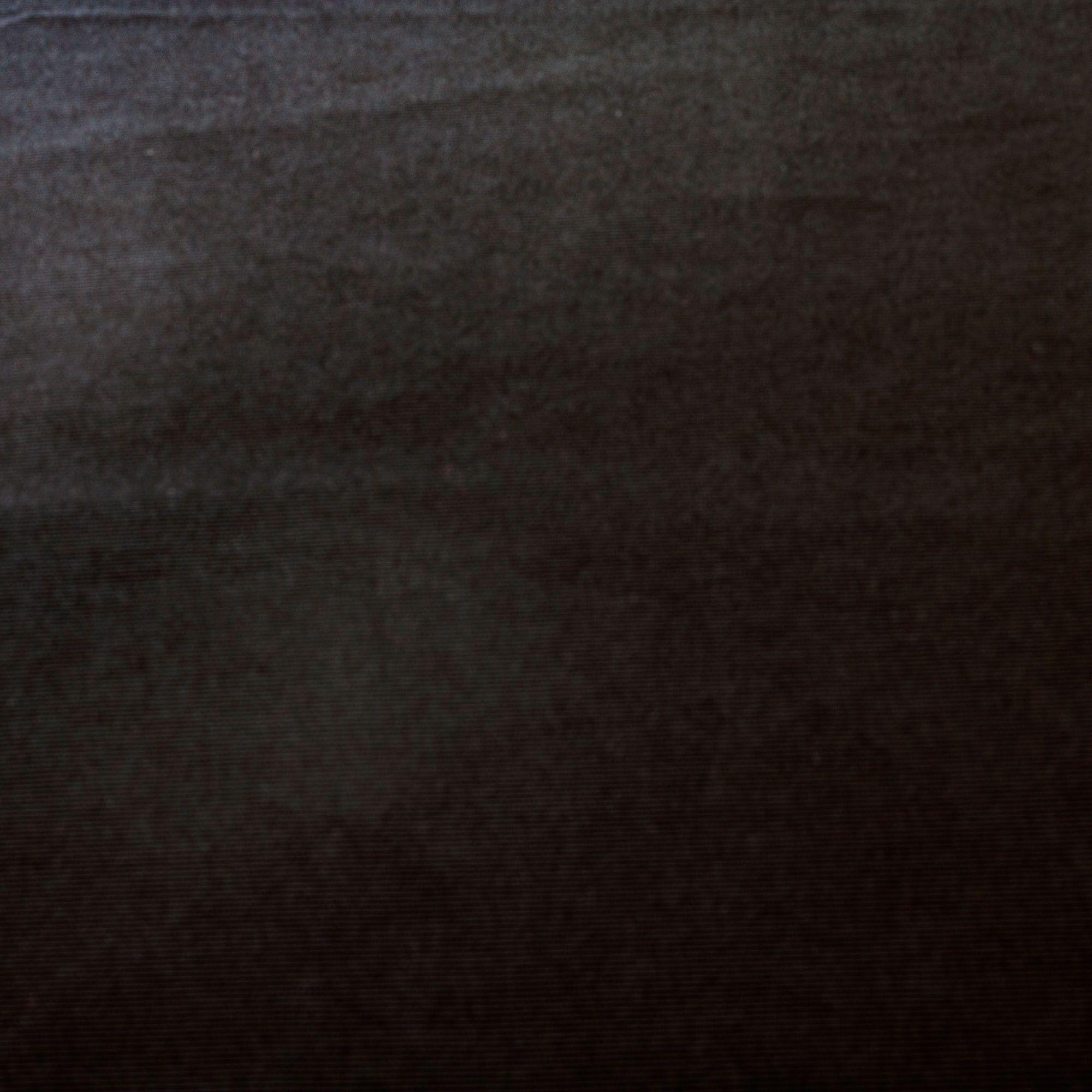 Tecido Malha Canelada Preta 92% Poliester 8% Elastano 1,50 m Largura
