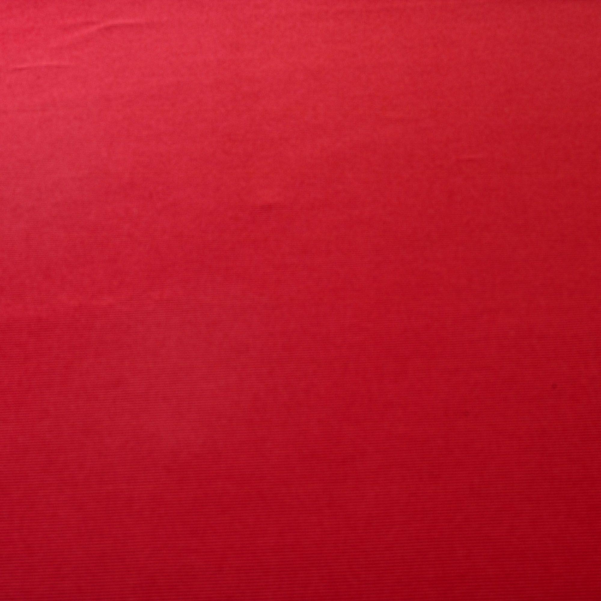 Tecido Malha Canelada Vermelha 92% Poliester 8% Elastano 1,50 m Largura