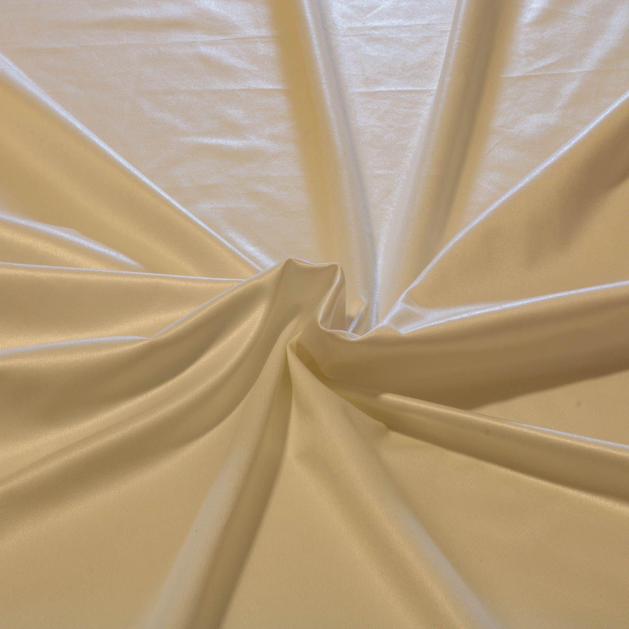 Tecido Malha Cirrê Branca 84% Poliamida 16% Elastano 1,50 m Largura