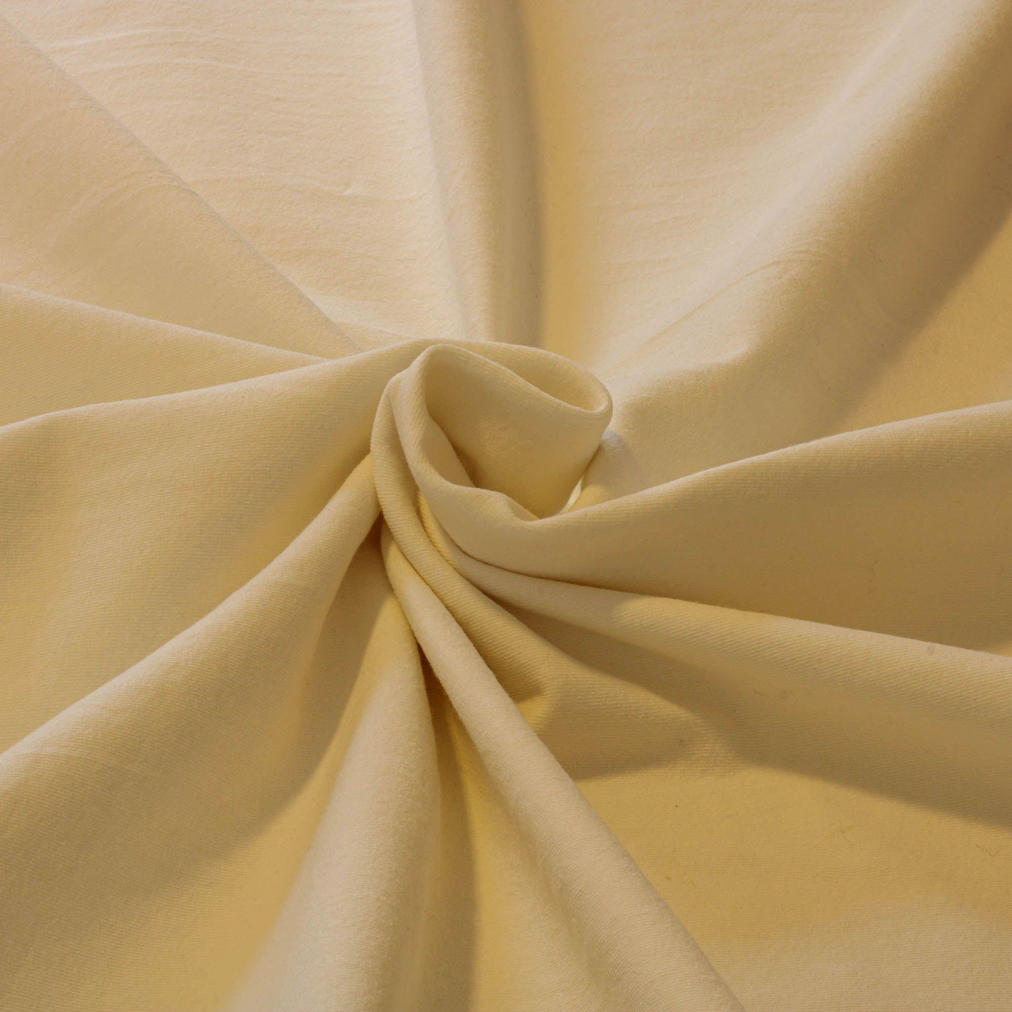 Tecido Malha Cotton Creme 1,80 Mt Largura Manteiga